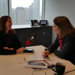 Interview with CBC on Canadian Private Sector's Role
