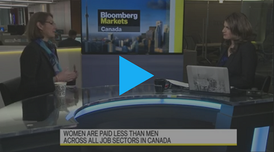 Closing the Gender Wage Gap with Bloomberg Canada